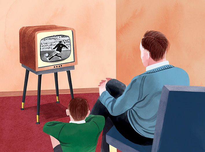 TV tittande