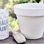 Måla föremål för utomhusbruk