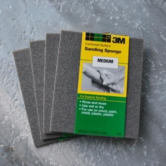 3M Tunna slipsvampar - Medium