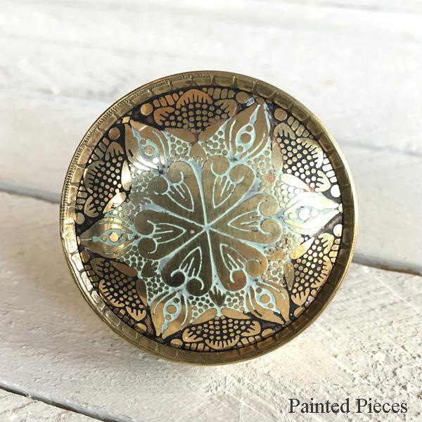 Brass Mandala Star