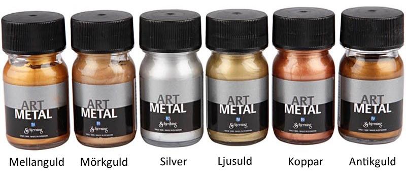 Art Metal Metallfärg