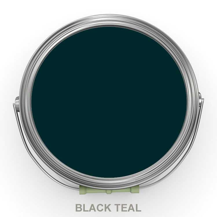 Black Teal mörk