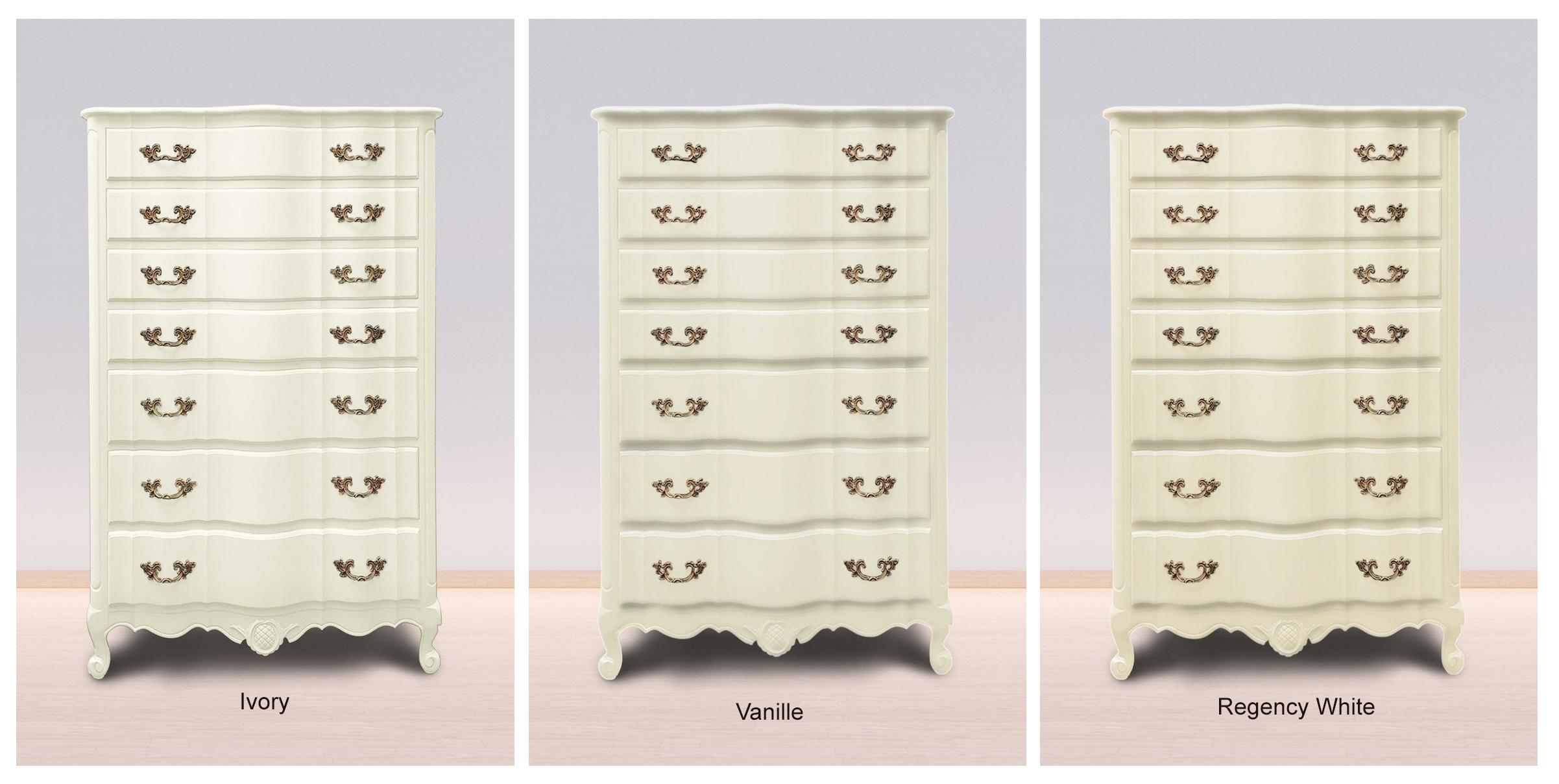 Ivory, Vanille & Regency White