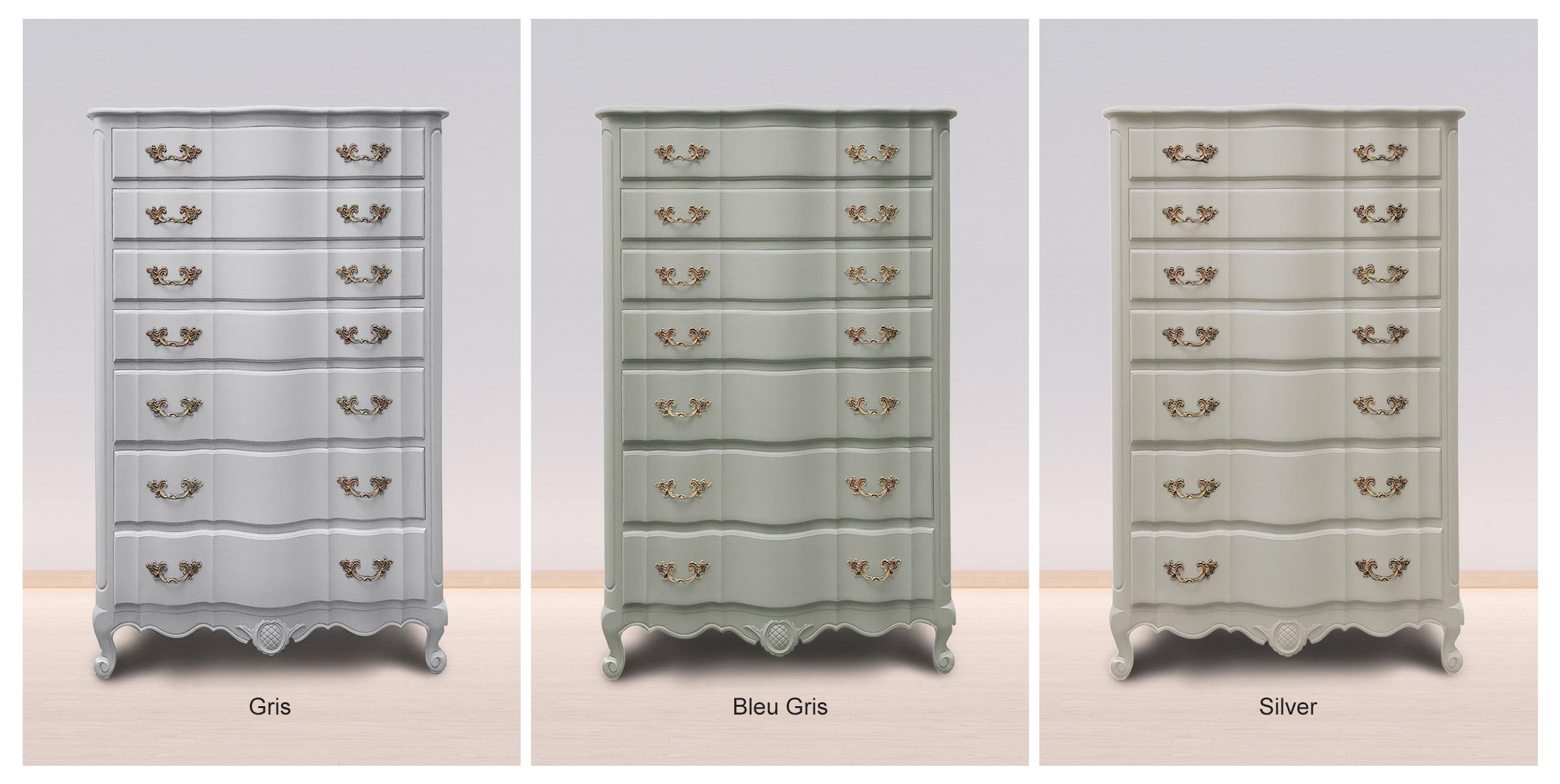 Gris, Bleu Gris & Silver Orginal