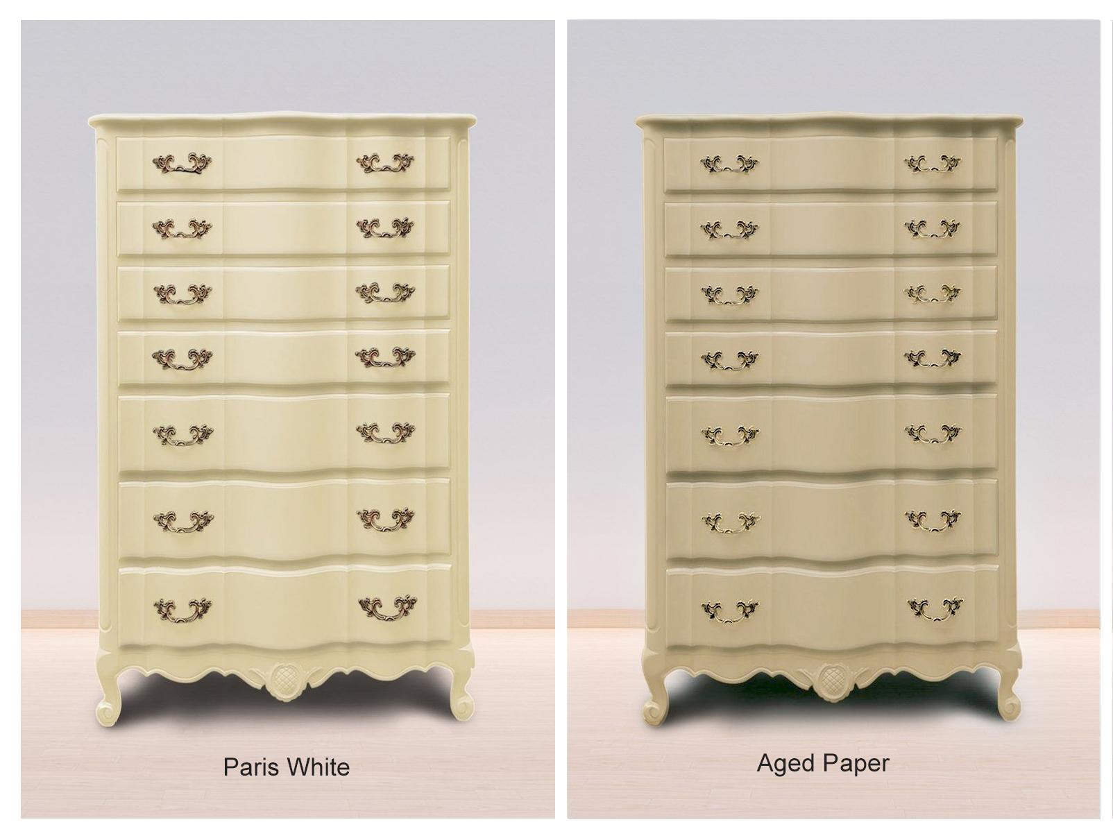 Paris White & Aged Paper