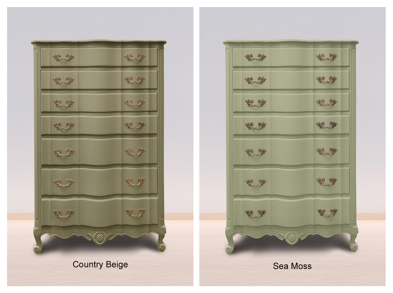 Sea Moss & Country Beige