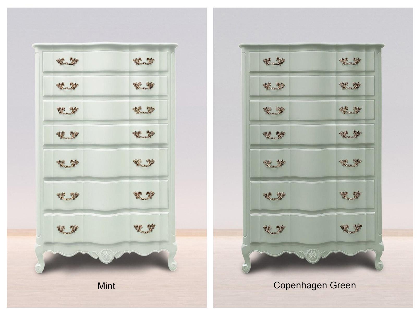 Mint & Copenhagen Green
