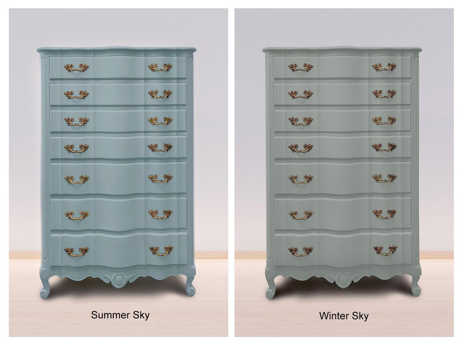 Summer Sky & Winter Sky