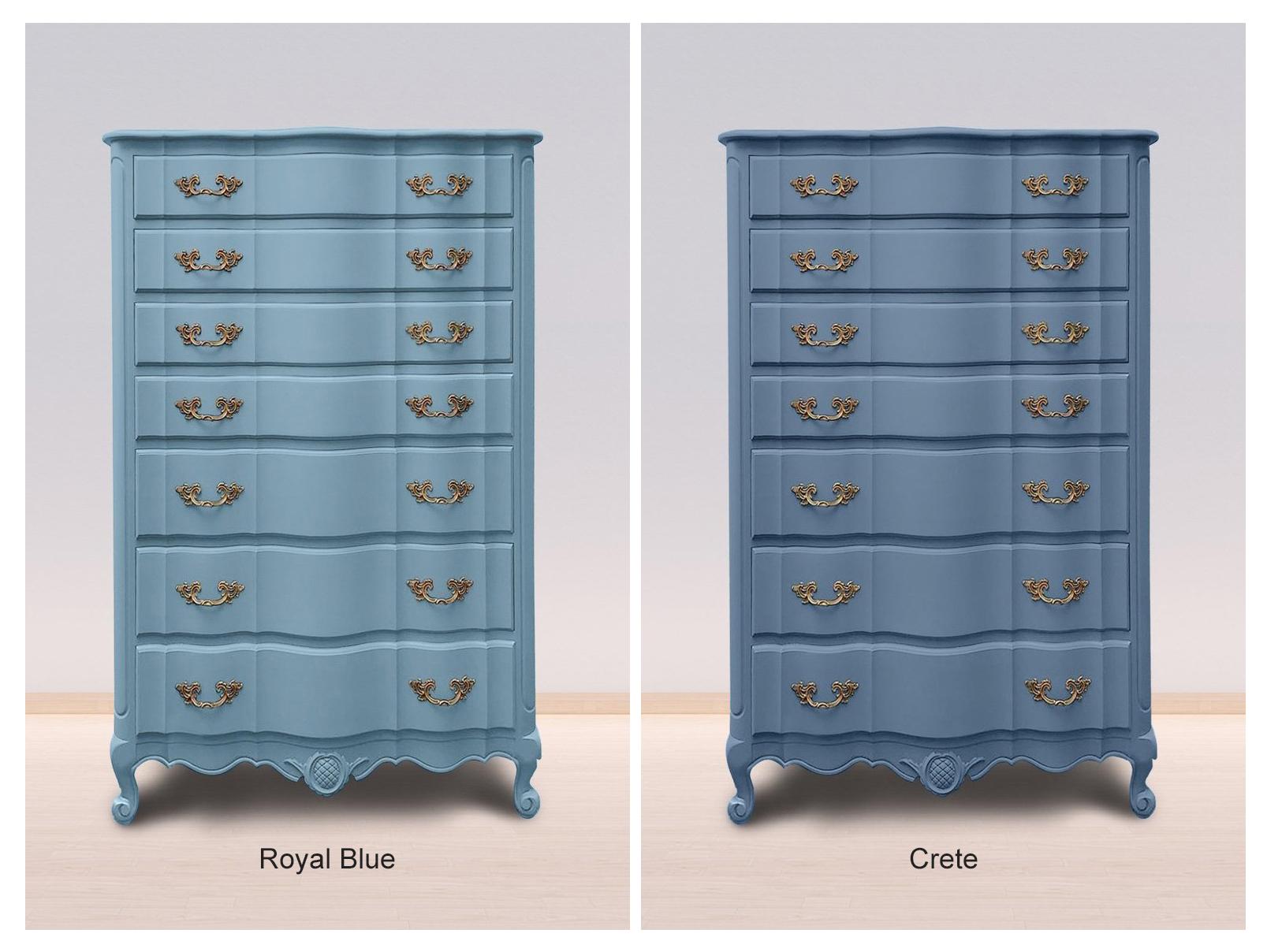 Royal Blue & Crete