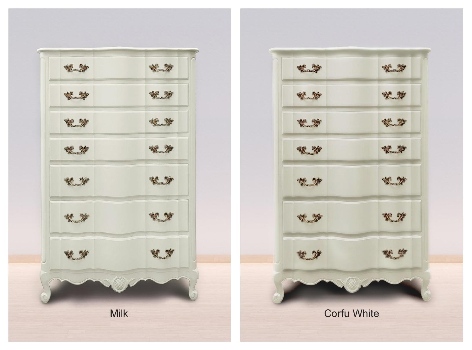 Milk & Corfu White