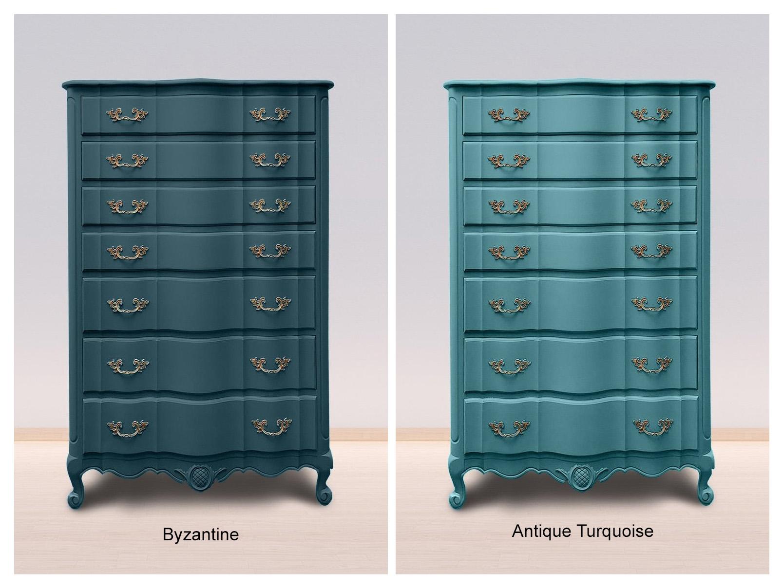 Byzantine & Antique Turquoise