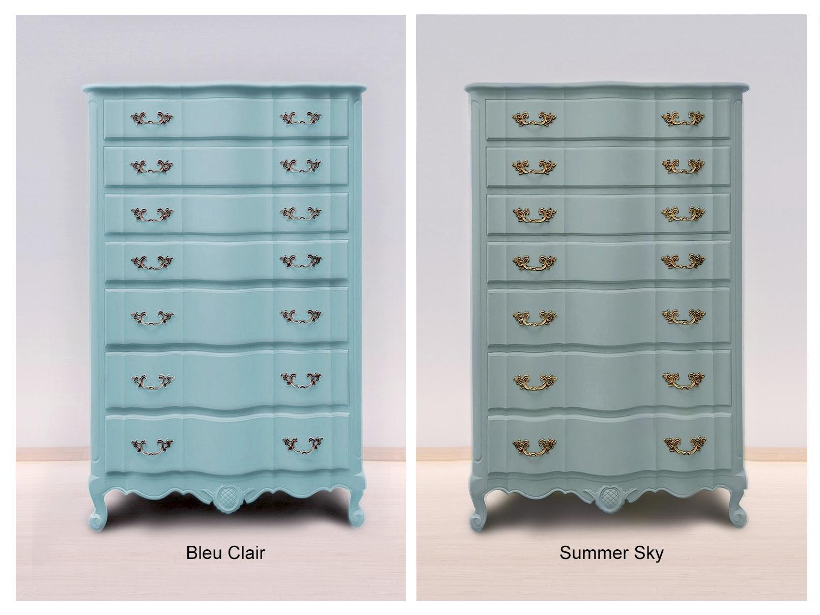Bleu Clair & Summer Sky