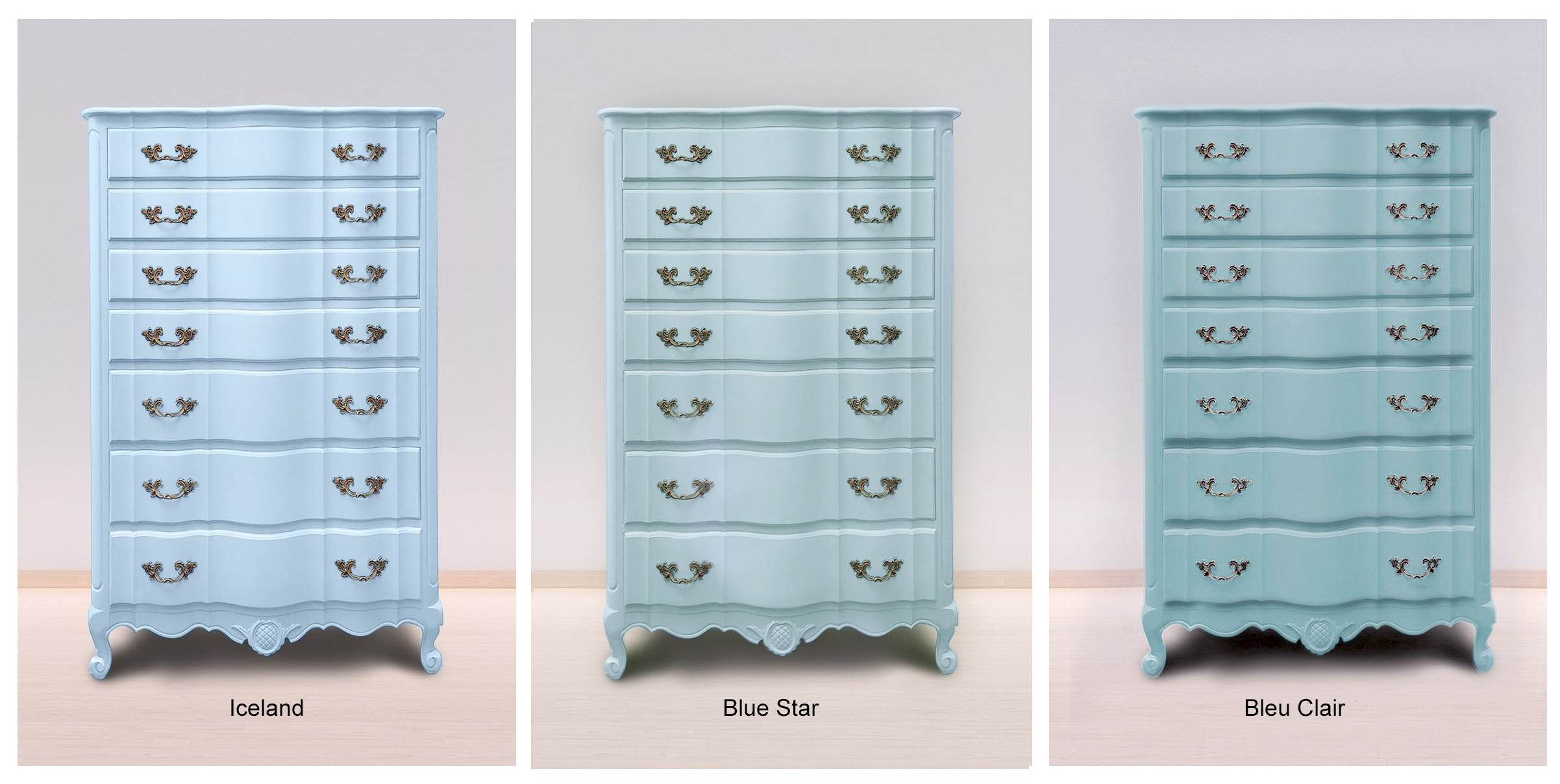 Iceland, Blue Star & Bleu Clair