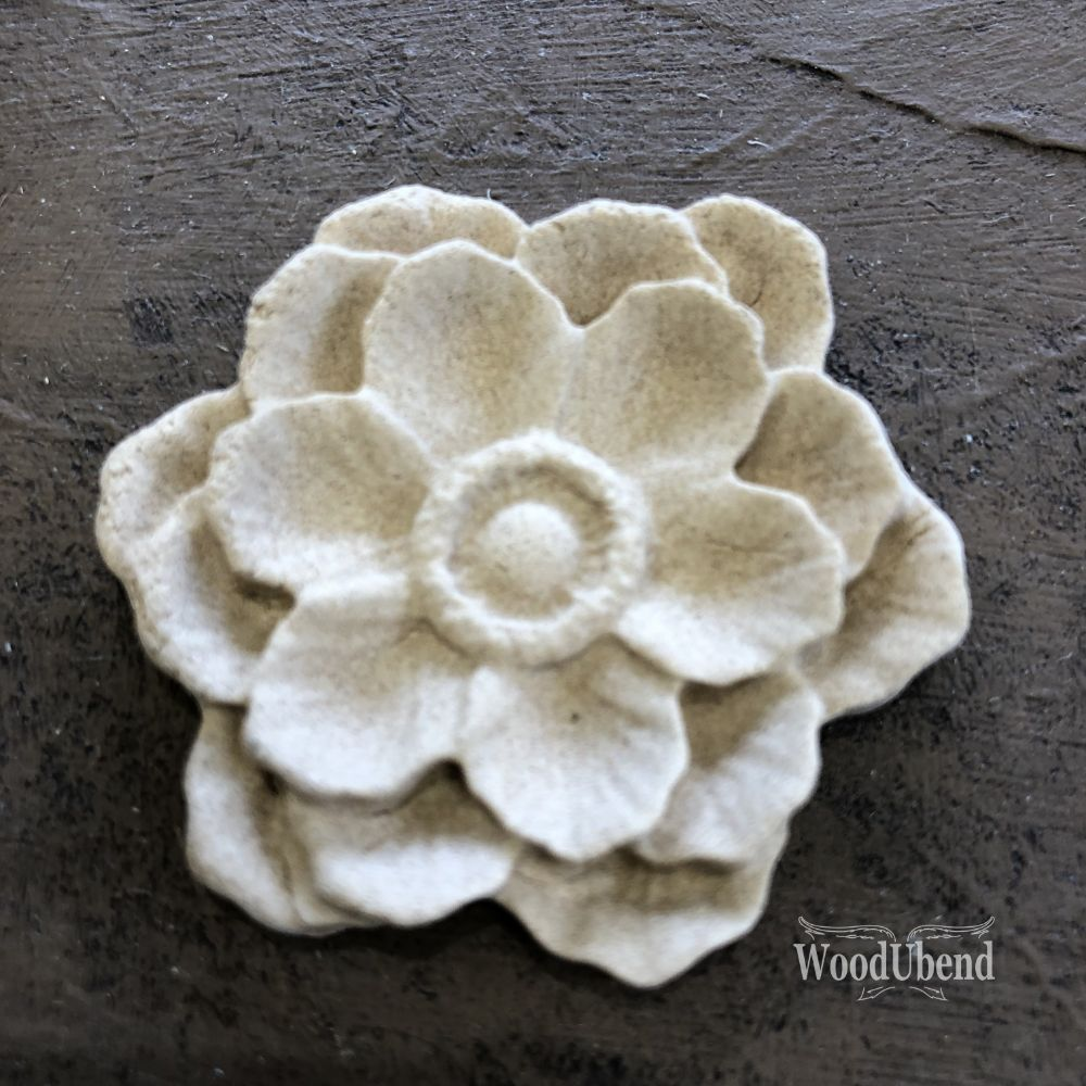 Classic Multi Petal Flower WUB0355 5.3cm