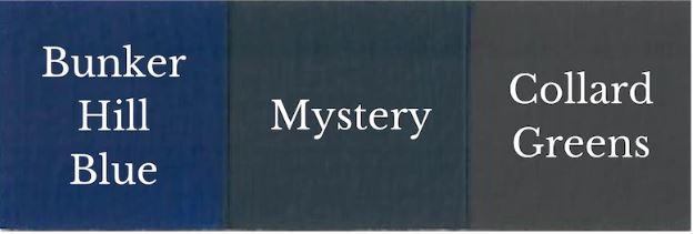 1 del Bunker Hill Blue + 1 Del Collard Greens = Mystery