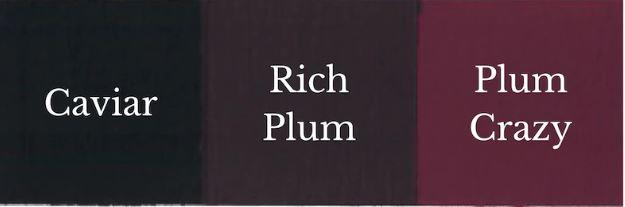 1 del Caviar + 1 del Plum Crazy = Rich Plum