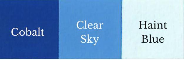 1 del Cobalt + 1 del Haint Blue = Clear Sky