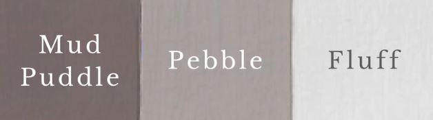 1 del Fluff + 1 del Mud Puddle = Pebble