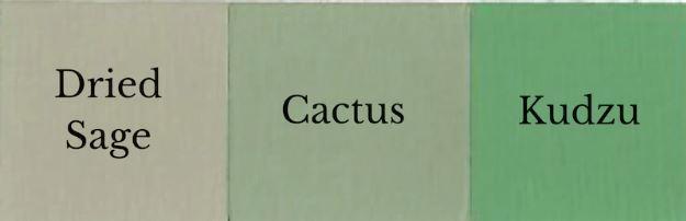 1 del Kudzu + 1 del Dried Sage = Cactus