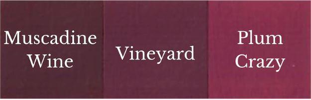 1 del Muscadine Wine + 1 del Plum Crazy = Vineyard