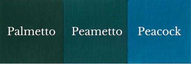 1 del Palmetto + 1 del Peacock = Peametto
