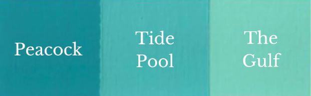 1 del Peacock + 1 del The Gulf = Tide Pool