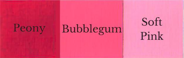 1 del Peony + 1 del Soft Pink = Bubblegum