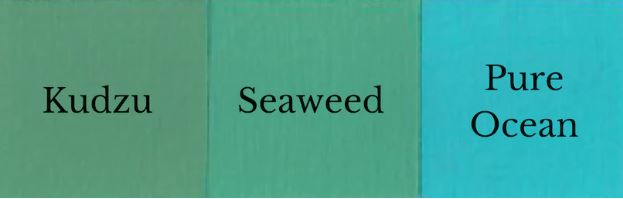 1 del Pure Ocean + 1 del Kudzu = Seaweed