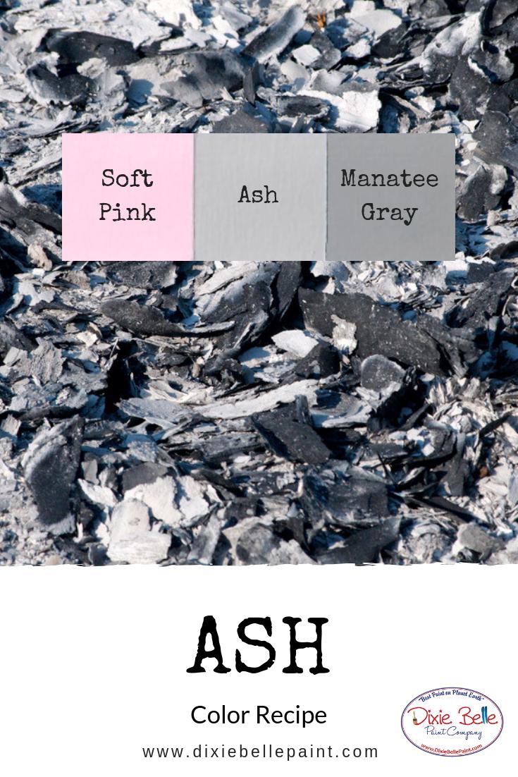 Ash Dixie Belle Chalk Mineral Paint Color Recipe