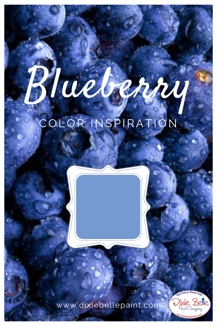 Blueberry Color Inspiration Dixie Belle Chalk Mineral Paint