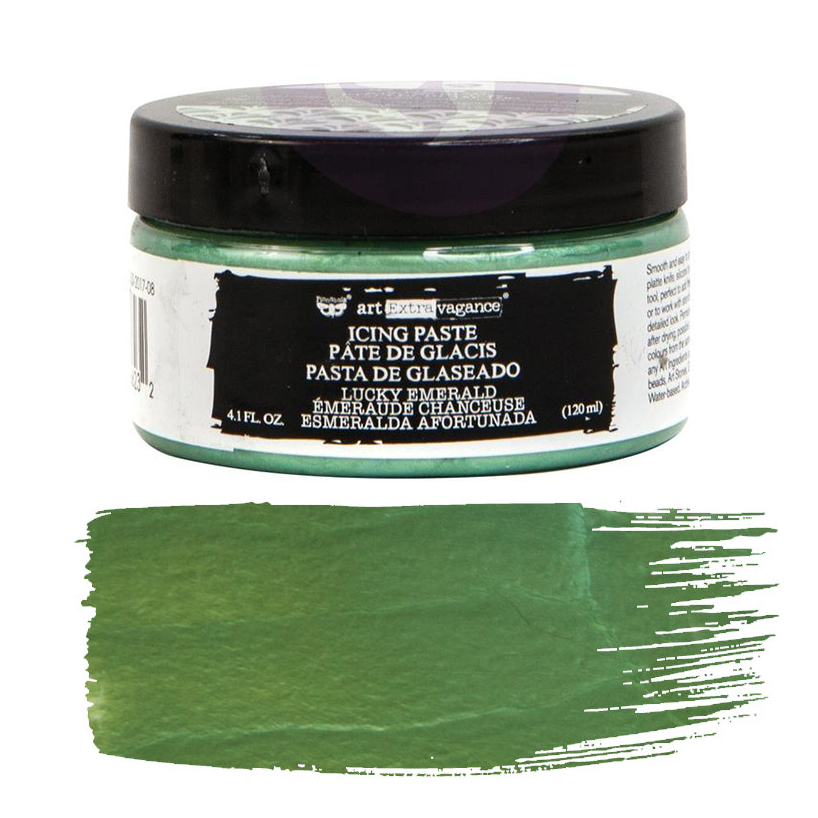Art Extravagance Icing Paste Lucky Emerald