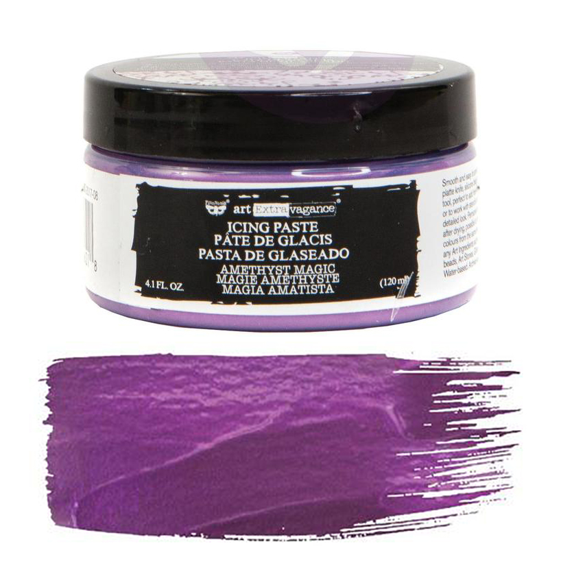 Art Extravagance Icing Paste Amethyst Magic