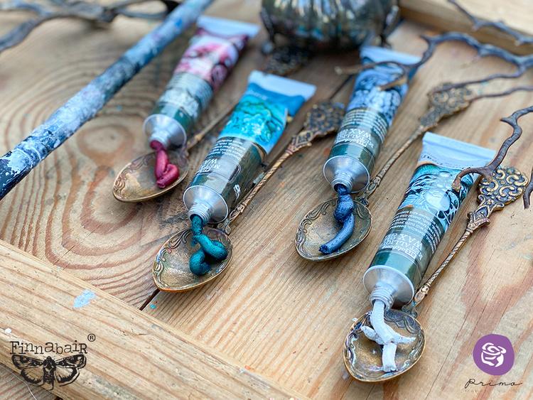 Art Alchemy Metallique Wax - Old Denim