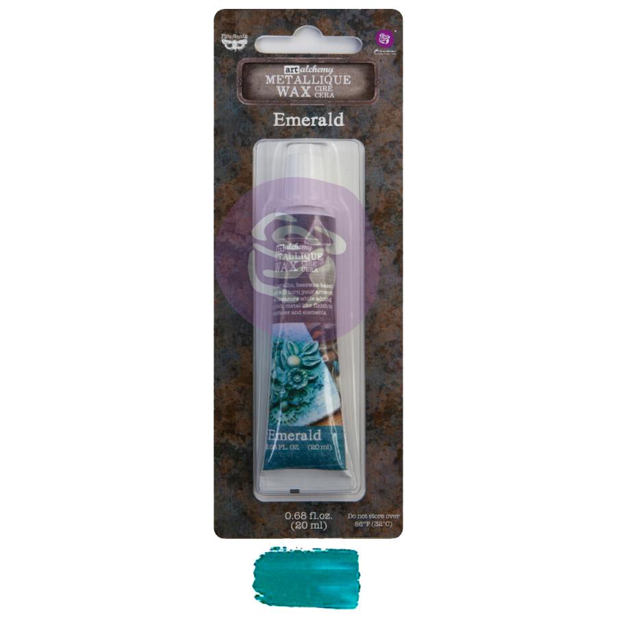 Metallique Wax- Emerald