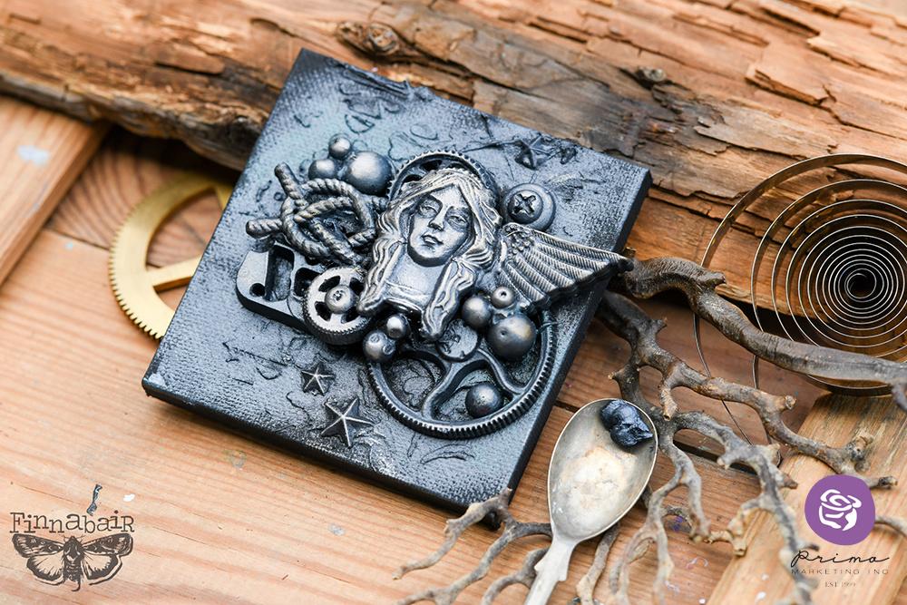 Art AlchemyMetallique Wax White Pearl Metallique Wax