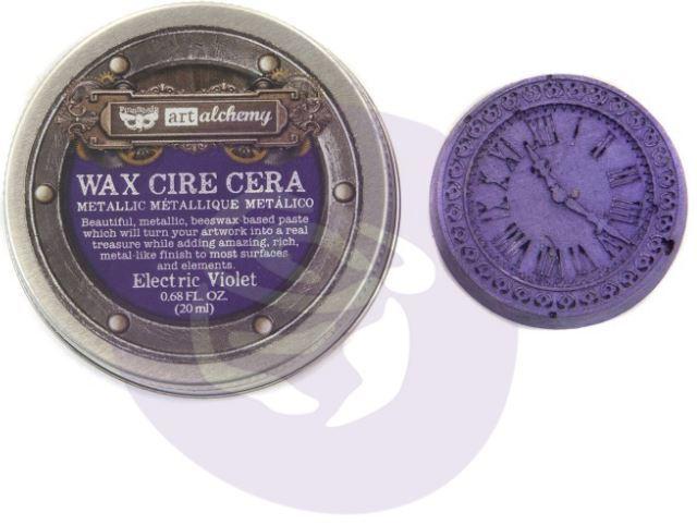 Art Alchemy Metallique Wax  Electric Violet