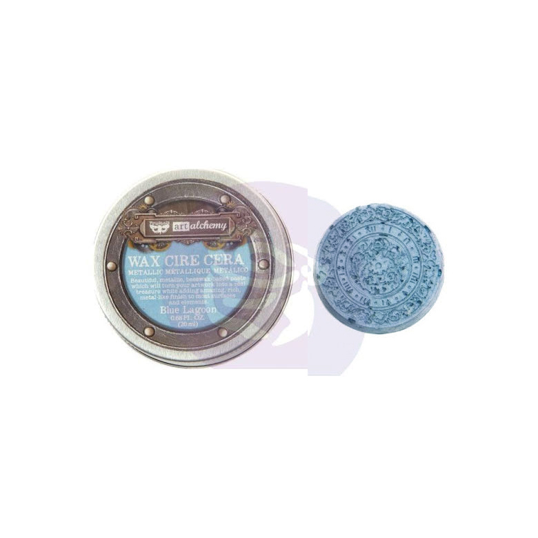 Art Alchemy Metallique Wax Blue Lagoon