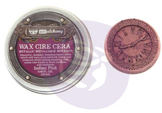 Art Alchemy Metallique Wax Indian Pink