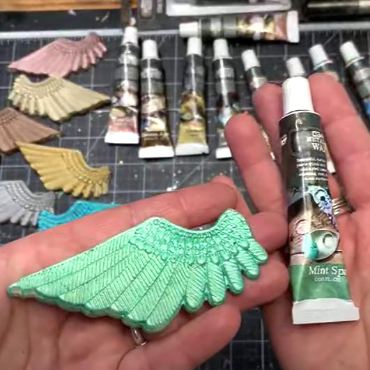 Art Alchemy Metallique Mint Sparkle