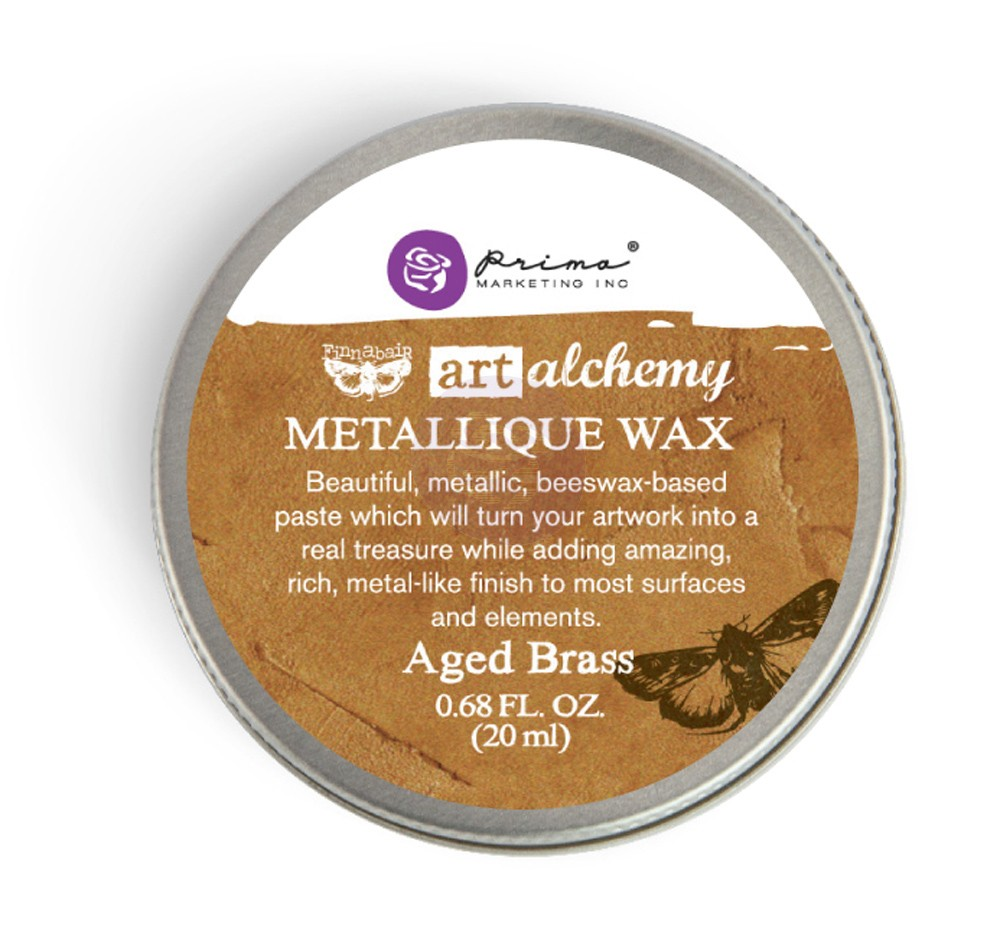 FINNABAIR Art Alchemy Metallique Wax - Aged Brass