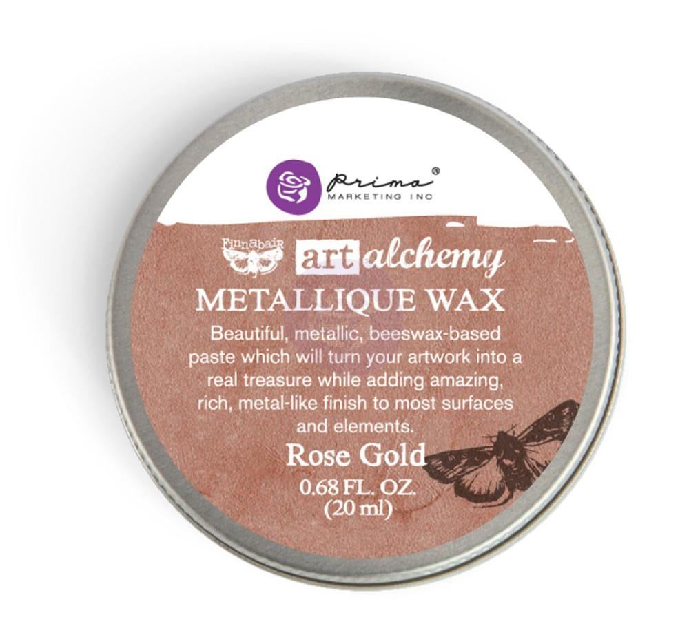 FINNABAIR Art Alchemy Metallique Wax- Rose Gold