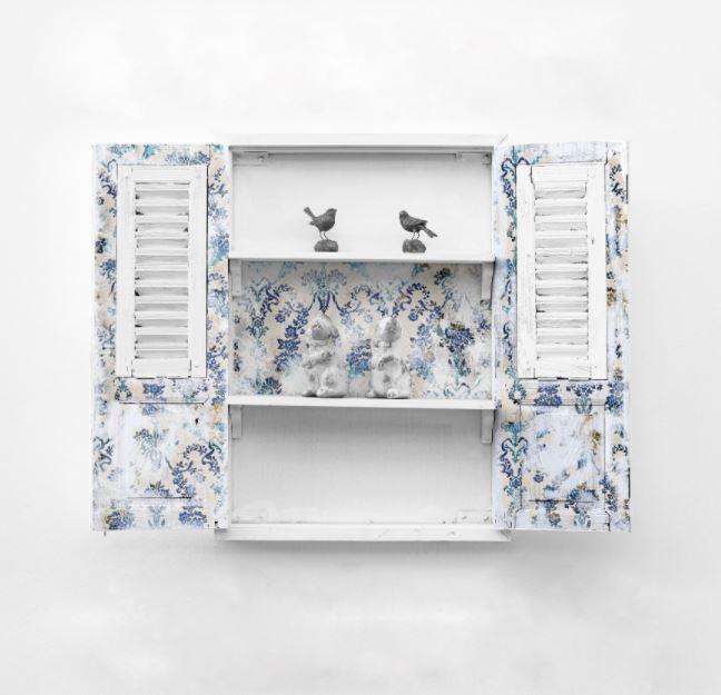 PRIMA Re Design Decoupage Tissue Paper Cobalt Flourish
