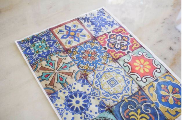 COLORFUL TILES Belles & Whistles Rice Papers