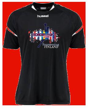 FIN T-shirt Front 2017