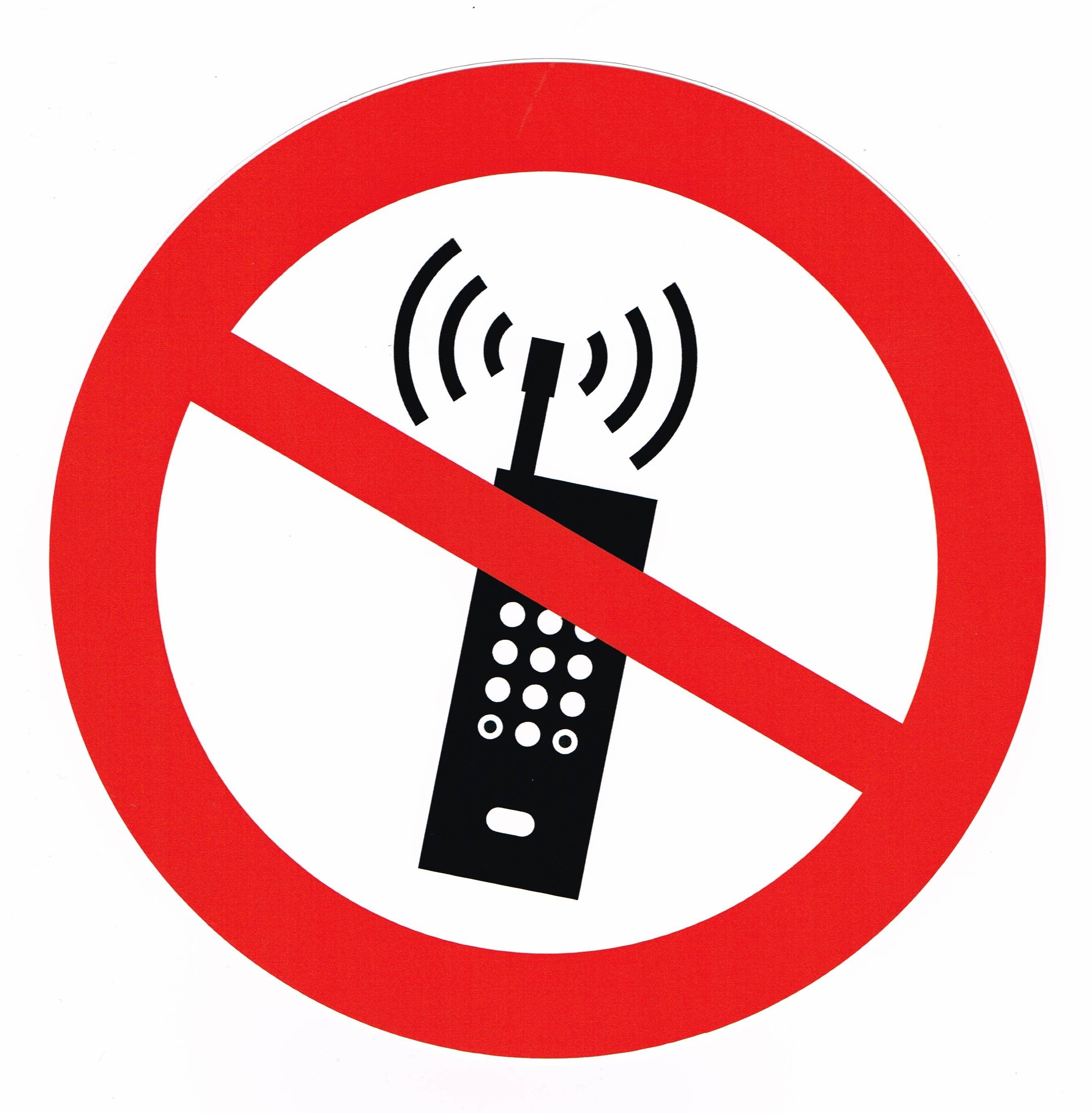 Mobil telefon förbjuden20190202