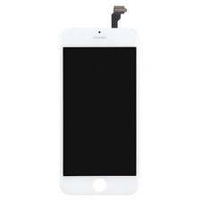 iPhone 6S Plus Skärm oem vit - iPhone 6S + OEM vit