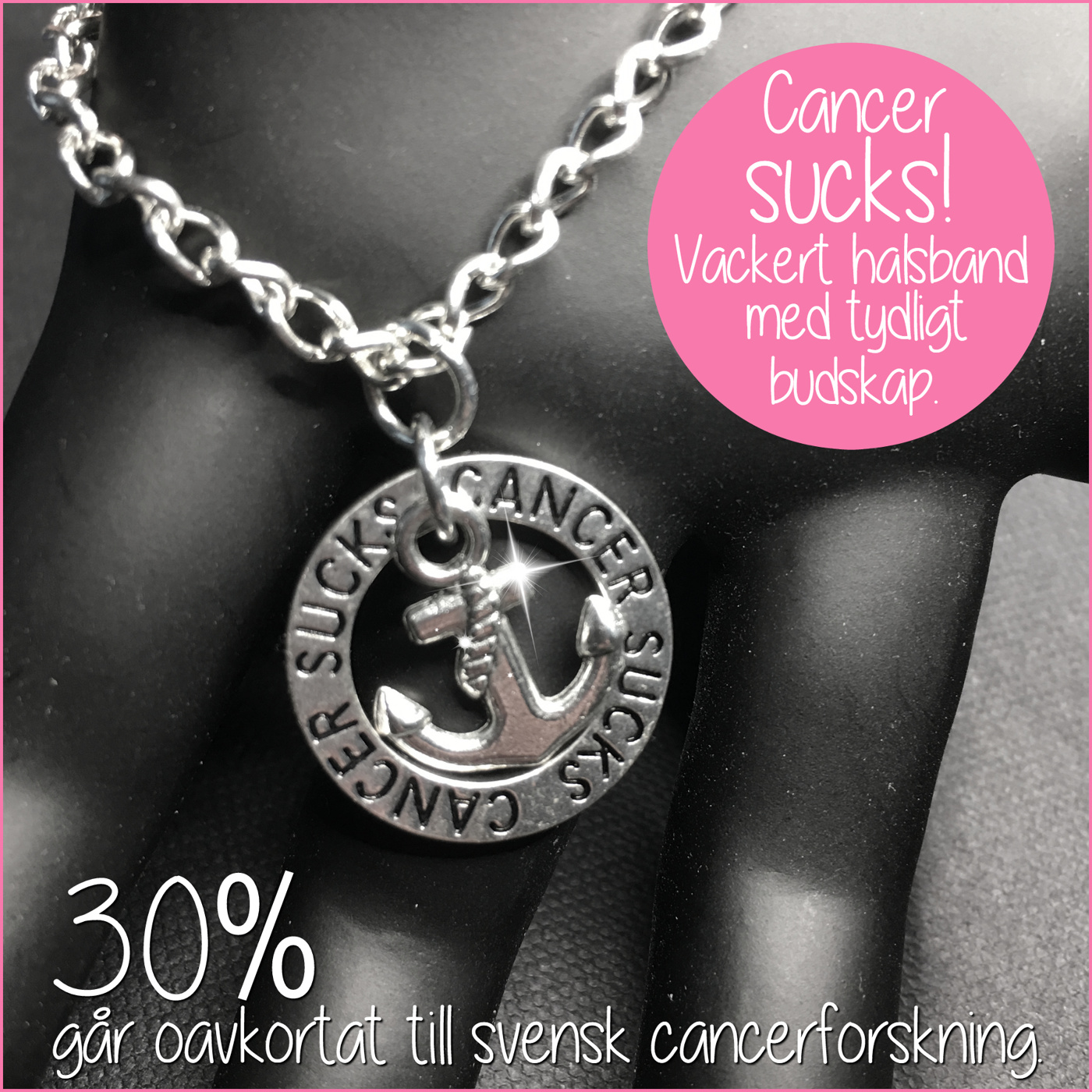 Halsband Cancer sucks