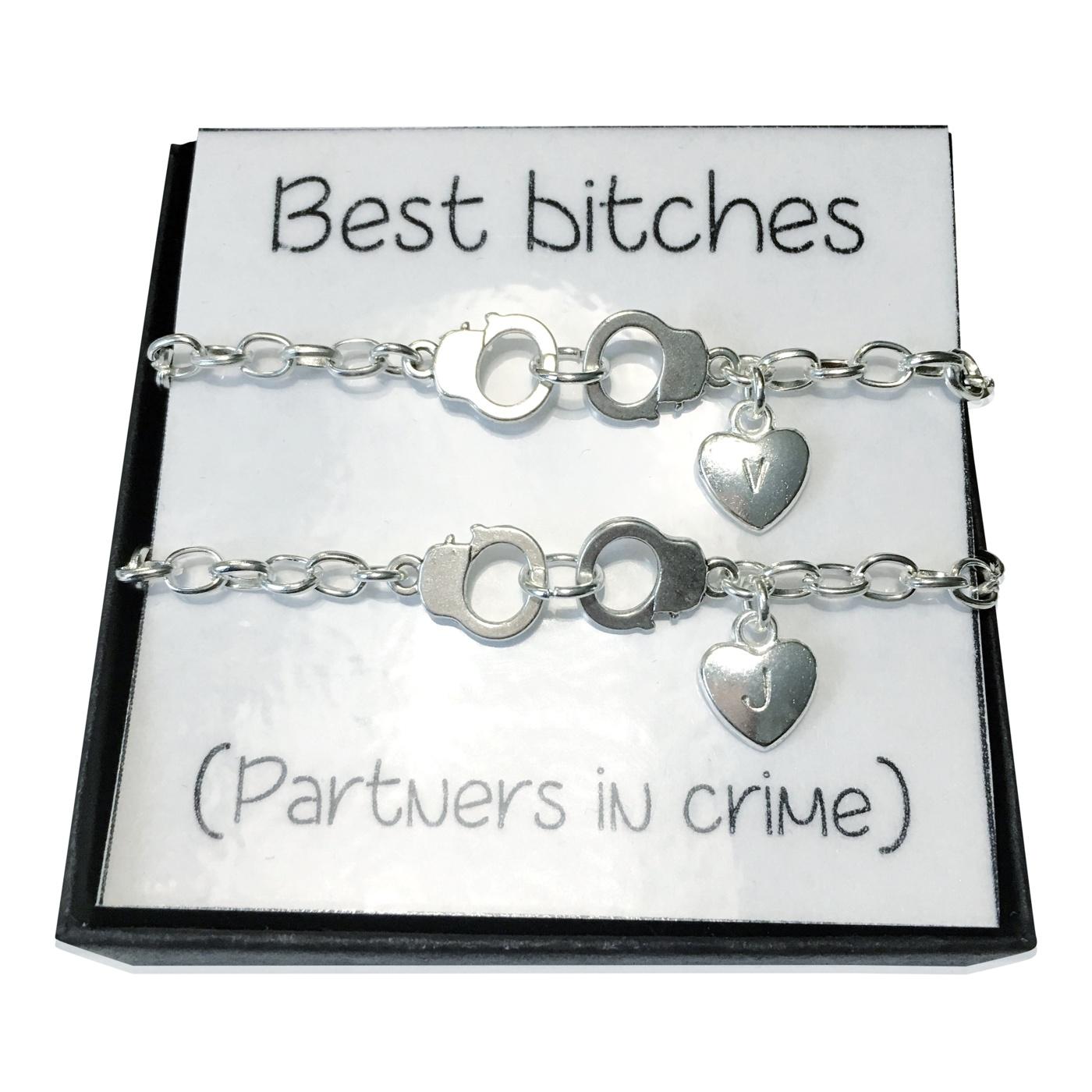 Armband Best bitches gravyr
