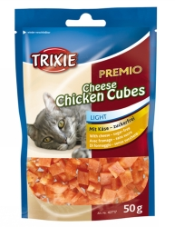 PREMIO Cheese Chicken Cubes, 50 g  - PREMIO Cheese Chicken Cubes, 50 g