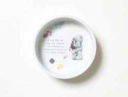 MTY Keramikskål katt 12,5cm  - MTY Keramikskål katt 12,5cm